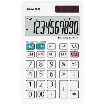 Sharp EL-377W bílá - Kalkulačka