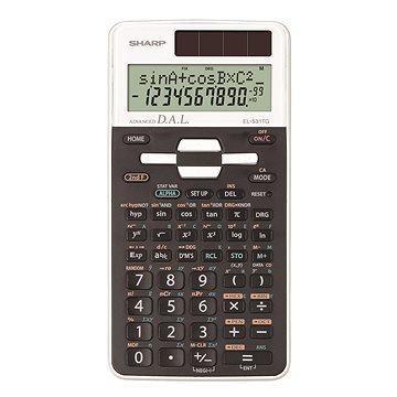 Sharp EL-531TG bílá - Kalkulačka