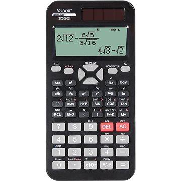 REBELL SC2060S černá - Kalkulačka