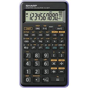 Sharp SH-EL501TVL černo/fialová - Kalkulačka