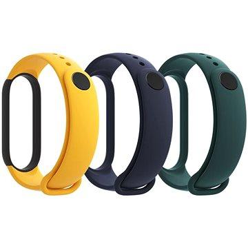 Xiaomi Mi Band 5 Strap (Blue, Yellow, Green) - Řemínek