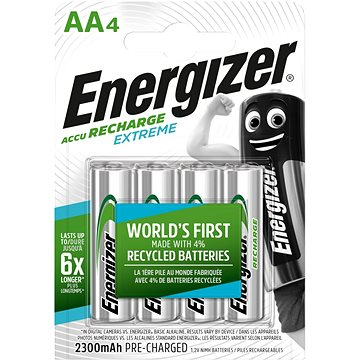 Energizer NiMH Extreme HR6 AA 2300mAh /4ks - Nabíjecí baterie