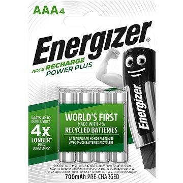 Energizer Power Plus AAA 700mAh 4ks - Nabíjecí baterie