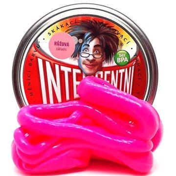 Inteligentní plastelína - Růžová (základní) - Modelovací hmota
