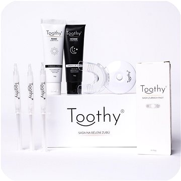 TOOTHY Launcher  - Set sady na bělení zubů a bělících zubních past - Bělič zubů