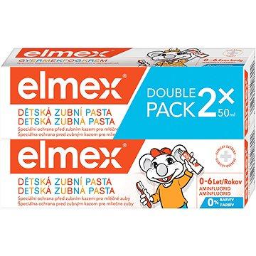 ELMEX Kids duopack 2 × 50 ml - Zubní pasta