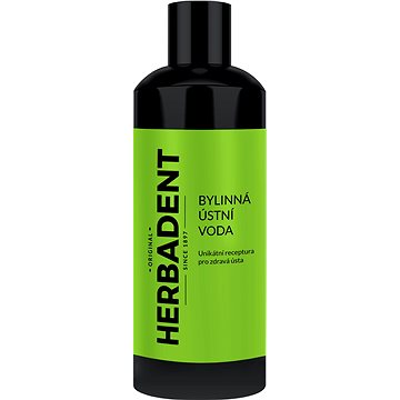 HERBADENT bylinná ústní voda 400 ml  - Ústní voda