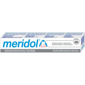MERIDOL Gentle White 75 ml - Zubní pasta