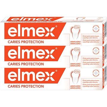 ELMEX Caries Protection 3 x 75 ml - Zubní pasta