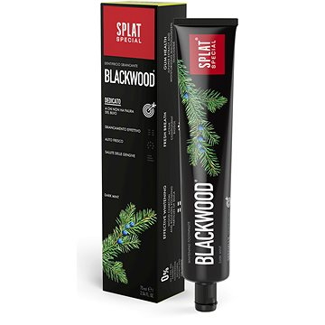 SPLAT Special Blackwood 75 ml - Zubní pasta