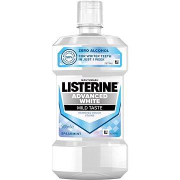 LISTERINE Advanced White Mild Taste 500 ml - Ústní voda