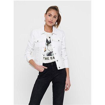 Bílá džínová bunda Jacqueline de Yong Windy M - Bunda