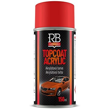 Rustbreaker - černá lesklá 150 ml - Barva ve spreji