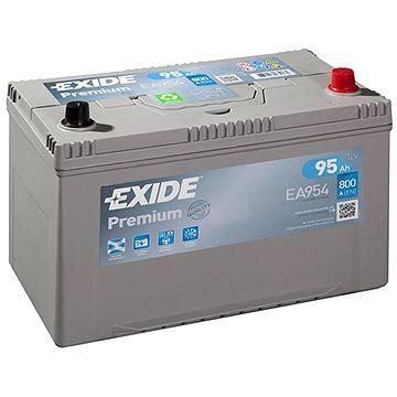 EXIDE Premium 95Ah, 12V, EA954 - Autobaterie