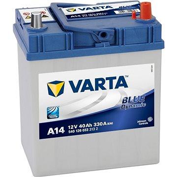 VARTA BLUE Dynamic 40Ah, 12V, A14 - Autobaterie