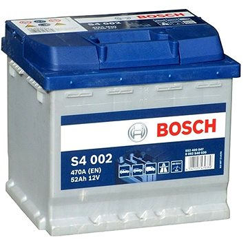 BOSCH S4 002, 52Ah, 12V (0 092 S40 020) - Autobaterie