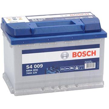 BOSCH S4 009, 74Ah, 12V (0 092 S40 090) - Autobaterie