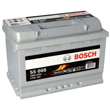 BOSCH S5 008, 77Ah, 12V (0 092 S50 080) - Autobaterie