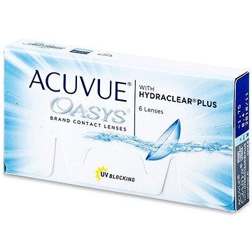 Acuvue Oasys with Hydraclear Plus (6 čoček) dioptrie: -9.00, zakřivení: 8.40 - Kontaktní čočky
