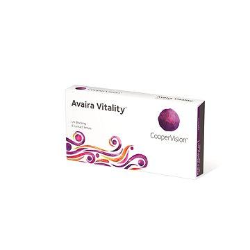 Avaira Vitality Sphere (6 čoček) dioptrie: -2.25, zakřivení: 8,4 - Kontaktní čočky