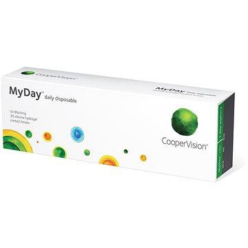 MyDay Daily Disposable (30 čoček) dioptrie: -8.00 zakřivení: 8.4 - Kontaktní čočky