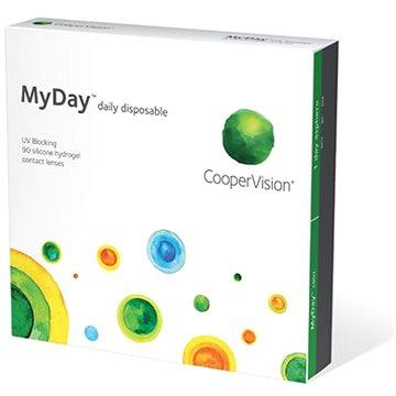 MyDay Daily Disposable (90 čoček) dioptrie: -0.75 zakřivení: 8.4 - Kontaktní čočky