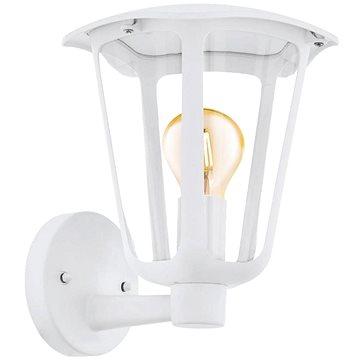 Eglo 98115 - VenKovní nástěnné svítidlo MONREALE 1xE27/60W/230V bílá IP44 - Nástěnná lampa
