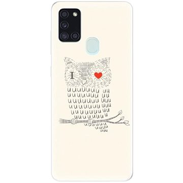 iSaprio I Love You 01 pro Samsung Galaxy A21s - Kryt na mobil