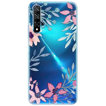 iSaprio Leaves and Flowers pro Huawei Nova 5T - Kryt na mobil