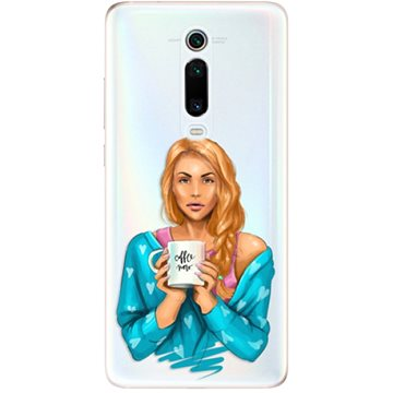 iSaprio Coffe Now - Redhead pro Xiaomi Mi 9T Pro - Kryt na mobil