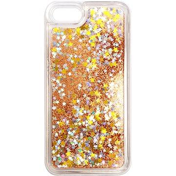 iWill Glitter Liquid Star Case pro Apple iPhone 7 / 8 / SE 2020 Rose Gold - Kryt na mobil