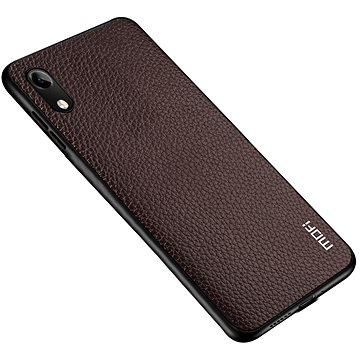 MoFi Litchi PU Leather Case Samsung Galaxy A10 Hnědé - Kryt na mobil