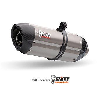 Mivv Suono Full Titanium / Carbon Cap pro Aprilia RSV 1000 (2004 > 2008) - Koncovka výfuku