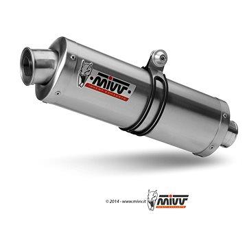 Mivv Oval Stainless Steel pro Ducati Monster 695 (2006 > 2008) - Koncovka výfuku