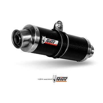 Mivv GP Carbon pro Kawasaki Z 1000 (2007 > 2009) - Koncovka výfuku