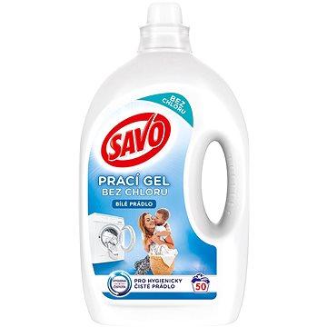 SAVO Bílé prádlo 2,5 l (50 praní) - Prací gel
