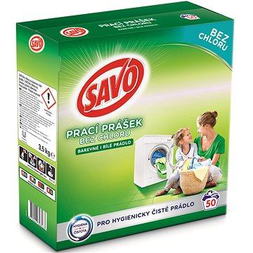 SAVO barevné i bílé 3,5 kg (50 praní) - Prací prášek