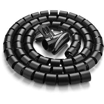 Ugreen Cable Organizer Protection Tube Black 1.5m - Organizér kabelů