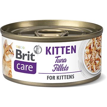 Brit Care Cat Kitten Tuna Fillets 70 g - Příspěvěk pro útulek