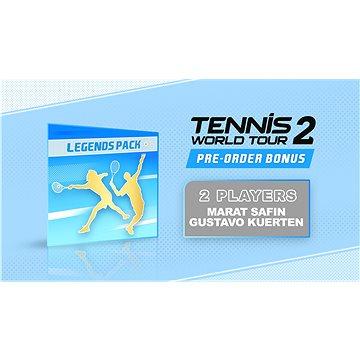 Tennis World Tour 2 - předobjednávkový bonus - Promo elektronický klíč