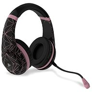 4Gamers Rose Gold Edition Gaming Headset - Abstract Black - drátové - PS4