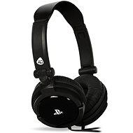 Herní sluchátka 4Gamers Gaming Headset PRO4-10 Black - drátové - PS4