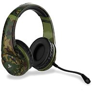 4Gamers Camo Edition Gaming Headset - Woodland - PS4