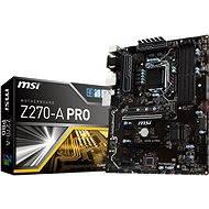 MSI Z270-A PRO - Základní deska