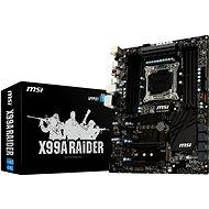 MSI X99A RAIDER - Základní deska