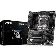 MSI X299 PRO - Základní deska