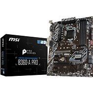 MSI B360-A PRO - Základní deska