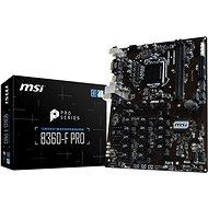 MSI B360-F PRO - Základní deska
