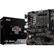 MSI A520M PRO - Základní deska