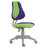 ALBA Fuxo S-Line zeleno/modrá - Rostoucí židle